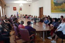Дмитрий Судавцов встретился с активом избирательного округа №17