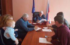 Депутат Думы Ставропольского края И.И. Киц провел личный прием граждан