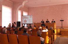 Михаил Кузьмин и Дмитрий Судавцов приняли участие в заседании хозяйственного актива Октябрьского района