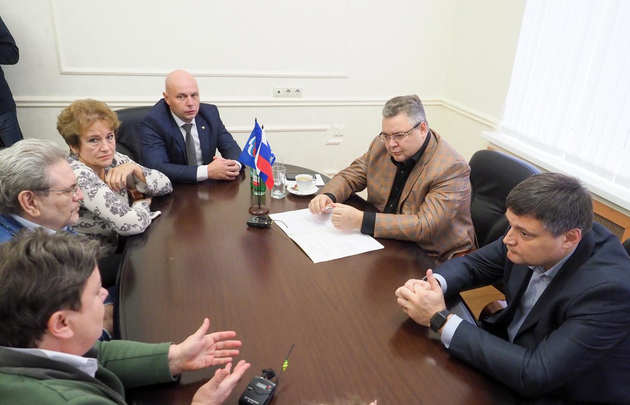 Владимир Владимиров провел прием граждан