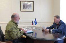 Депутат Госдумы РФ Михаил Кузьмин провел личный прием граждан в региональной приемной партии