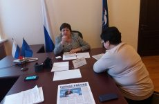 Валентина Муравьева провела прием граждан