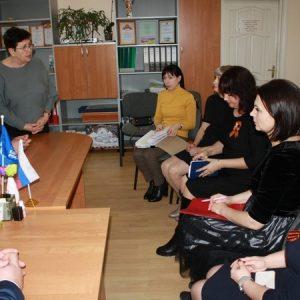 В Советском районе прошла тематическая встреча по вопросам социальной поддержки семей с детьми