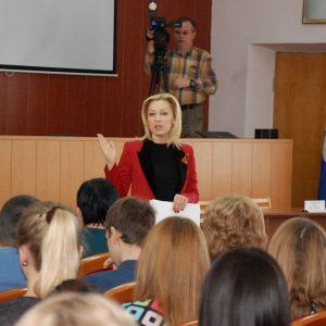 Ольга Тимофеева: «Обсуждая поправки в Конституцию, мы обсуждаем будущее наших детей»
