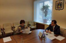 Министр труда и социальной защиты населения Ставропольского края Иван Ульянченко провел прием граждан