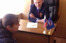 В Шпаковском районе прошел тематический приём граждан в рамках работы «семейных приёмных»
