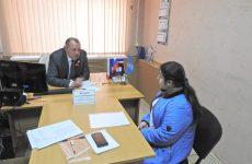 Депутат Думы Ставропольского края Жданов Анатолий Иванович провел прием граждан в рамках работы «семейных приемных»