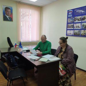 Прием граждан провел депутат Ставропольской городской Думы Павел Колесников