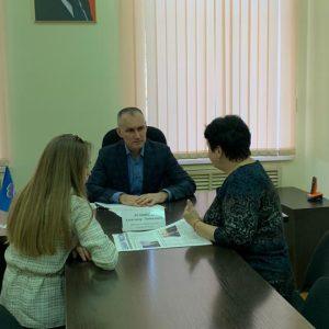 Прием граждан провел депутат Ставропольской городской Думы Александр Резников