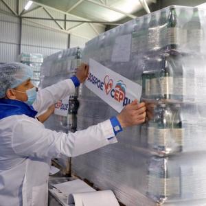 Ставрополье направило 20 тонн минеральной воды в больницу Коммунарки