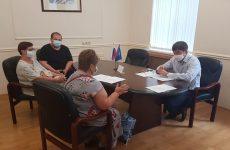 Дмитрий Судавцов провёл приём граждан по личным вопросам