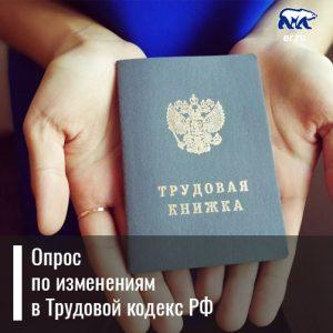 Опрос по изменениям в Трудовой кодекс РФ