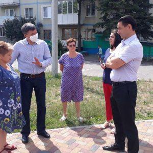 Дмитрий Судавцов провел ряд выездных мероприятий