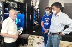 Дмитрий Судавцов посетил Ветерана Великой Отечественной Войны
