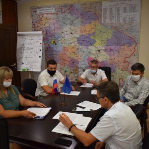 Дмитрий Судавцов и Роман Марченко провели совместный прием граждан.