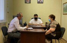Председатель Думы Ставропольского края провел тематический прием граждан