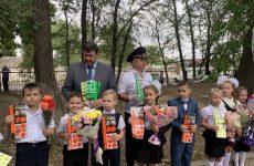 Геннадий Ягубов принял участие в торжественной линейке в школе №1 города Буденновска