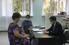 Ростислав Можейко провел прием граждан в селе Сенгилеевском Шпаковского района
