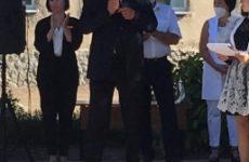 Депутат Думы Ставропольского края Анатолий Жданов принял участие в торжественной линейке, посвященной Дню знаний