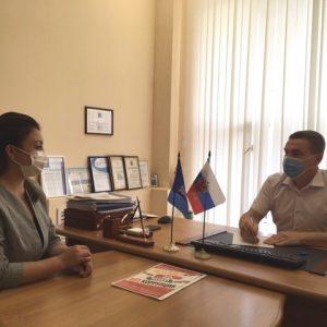 Роман Стаценко провел прием граждан