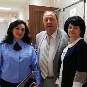 Петр Марченко принял участие итоговом двадцать пятом заседании Совета Шпаковского муниципального района