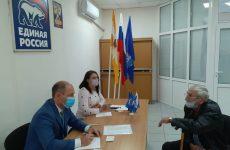 В Георгиевской местной общественной приемной партии «ЕДИНАЯ РОССИЯ» прошел прием граждан по личным вопросам