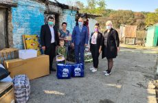 С инициативой оказать помощь семье погорельцев выступило Георгиевское отделение Партии «ЕДИНАЯ РОССИЯ»