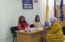 Депутат Думы Георгиевского городского округа Лариса Фенева провела личный прием граждан