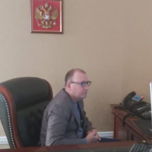 Роман Завязкин провёл приём граждан Грачевского района
