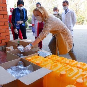 Ольга Тимофеева: «Сегодня важна любая помощь медикам»