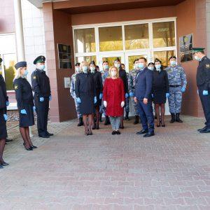 Ольга Тимофеева отчиталась о своей работе перед судебными приставами Ставропольского края