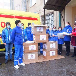 Зампред Госдумы Ольга Тимофеева оказала помощь Скорой помощи Ставрополя