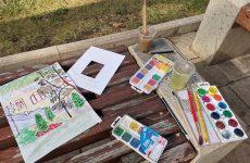 В минувшую среду 28 октября состоялся мастер-класс по рисованию в технике акварель на пленэре для участников проекта партии Единая Россия «Старшее поколение»