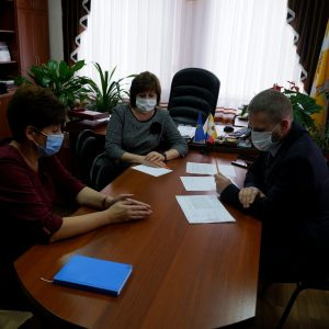 Виктор Надеин c рабочей поездкой посетил Новоселицкий район