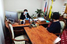 Валентина Муравьева приняла участие в традиционной общероссийской декаде приемов граждан