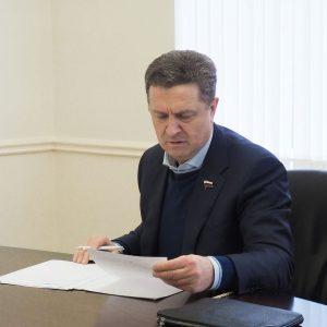 Член Совета Федерации Федерального Собрания Российской Федерации Валерий Гаевский провёл личный приём граждан в дистанционном формате