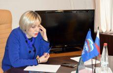 Депутат Думы Ставропольского края Людмила Редько провела личный прием граждан в режиме онлайн