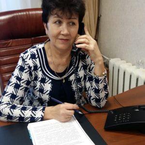 Маковская Любовь Александровна провела приём граждан по телефону