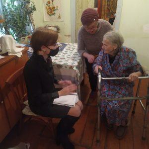 Сандружинники и депутат краевой Думы помогли ветерану решить давнюю проблему