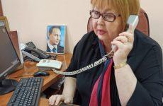 Личный прием граждан провела начальник ПФ РФ по г. Кисловодску Светлана Мержанова.