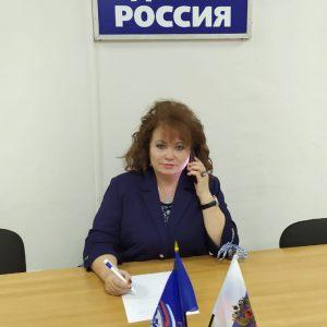 Депутат Думы Георгиевского городского округа Лариса Фенева, в рамках традиционной Декады приемов, провела свой очередной прием граждан в дистанционном режиме