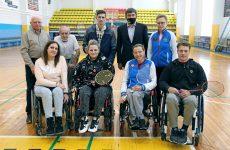 Дмитрий Судавцов поздравил ставропольских парабадминтонистов с наступающими праздниками
