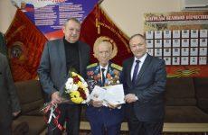 Депутат поздравил участника Великой Отечественной войны со 102-летним днем рождения