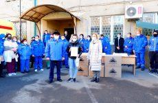 Ольга Тимофеева привезла новогодние подарки бригадам скорой помощи Ставрополя
