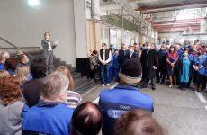Ольга Тимофеева: «В сегодняшних условиях особенно важно сохранить трудовые коллективы»