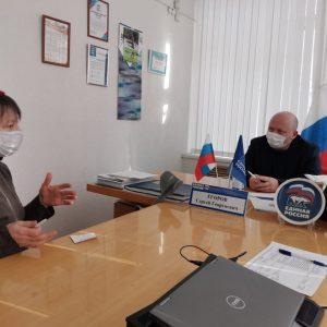 На базе Кисловодской общественной приемной партии «ЕДИНАЯ РОССИЯ» провел прием Сергей Егоров
