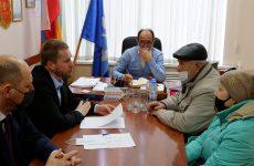 Виктор Надеин провел прием граждан