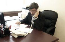 Дмитрий Судавцов провел дистанционный прием граждан по вопросам здравоохранения