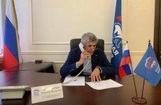 Лавриненко Алексей Фёдорович провёл дистанционный приём граждан