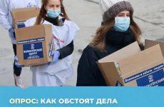 Опрос о развитии волонтерского движения в России